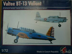 Maquette avion 1/72 pavla models ref 72028 vultee bt-13 valiant
