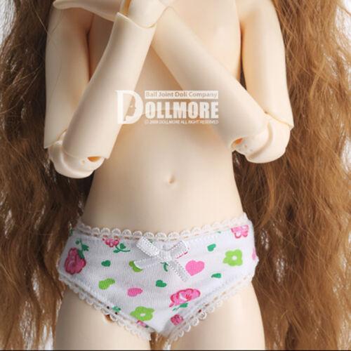 Dollmore MSD Flower Panties White