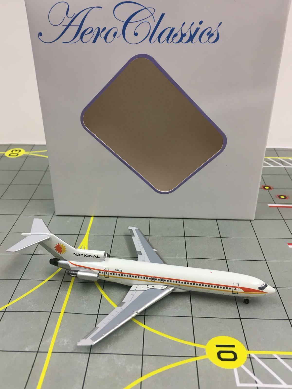 AeroClassics 1 400 National Airlines Boeing 727-200 N4738  1970s color