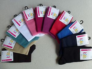 Kindersocken Kids Socke  UNI 97% BW Gr 19-38 Hudson NEU