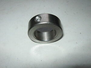 NEW-Stainless-Steel-Axle-Shaft-Locking-Stop-Collar-ID-1-125-1-1-8-inch