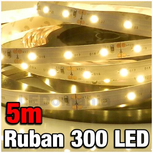 P802//5# Ruban LED Blanc Chaud 5 mètres 300LED 3528 warm white LED strip