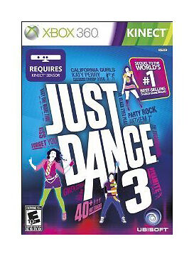 1 of 1 - Just Dance 3 (Microsoft Xbox 360, 2011)