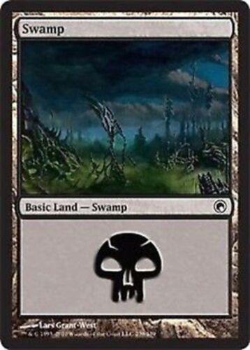 #239 Magic SOM Mint SWAMP 4x PALUDE