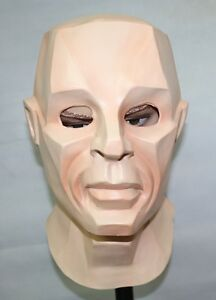 Latex-Kryten-Mask-full-head-halloween-Fancy-Dress-Cosplay-Red-Drawf-Kryton