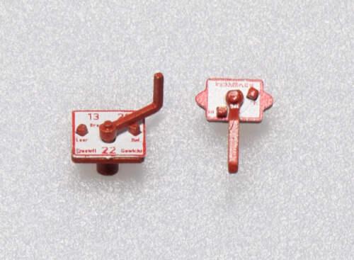 1Z-190//01 Dingler 1 Satz Bremsumsteller 1:32 Spur 1 1:32