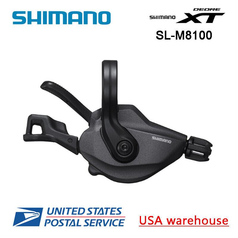 Nieuwe Shimano Deore XT SL-M8000 12 snelheid MTB Clamp On Right Shift (OE)