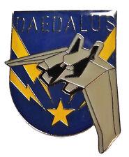 Stargate Atlantis TV DAEDALUS Ship Logo Enamel Pin
