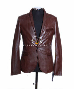Charlie Brown Classic Mens Smart 1 Buttoned Soft Lambskin Leather ...