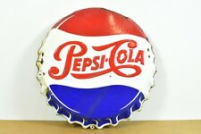 m3a26- Pepsi Cola Werbe Reklame Emailschild