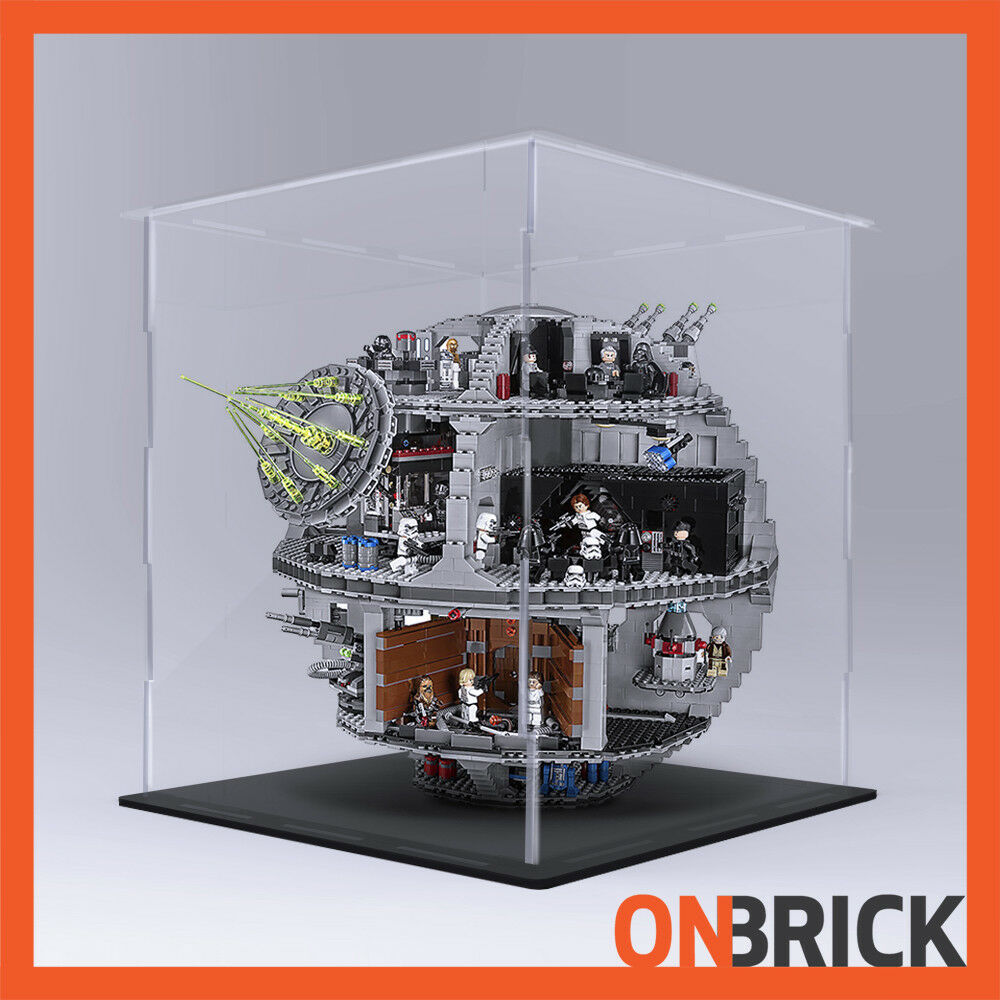 ONBRICK LEGO 75159 Dead estrella 4mm Premium Acrylic Display Case