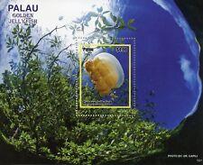 Palau 2019 MNH Golden Jellyfish 1v S/S Marine Animals Stamps