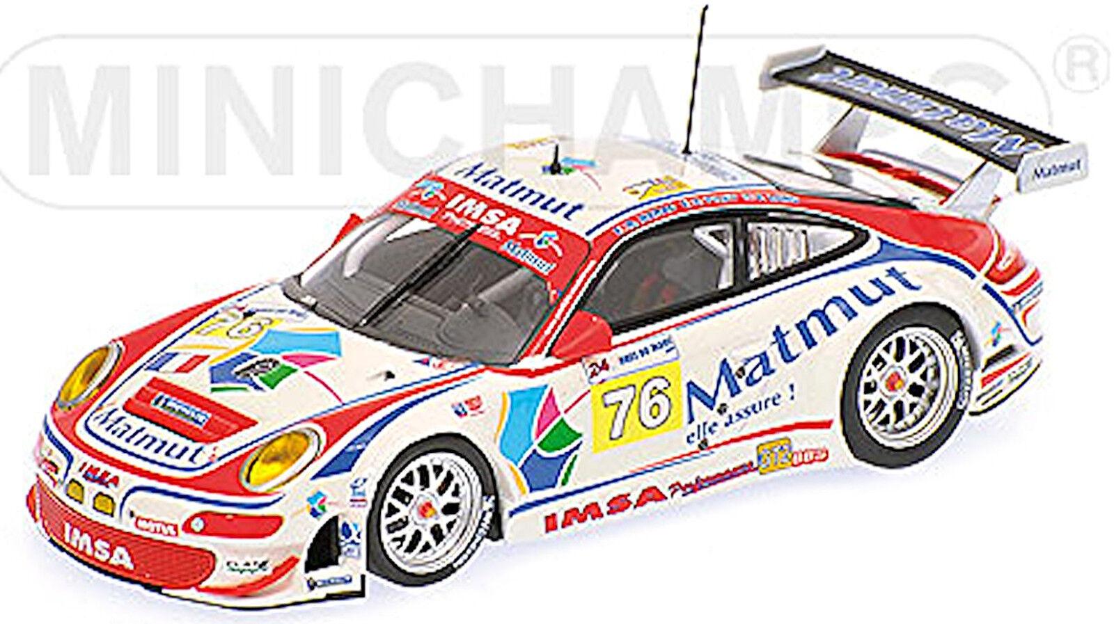 ventas calientes Porsche 911 997 997 997 24h Lemans 2009 NARAC Long Pilet  76 1 43 Minichamps  estar en gran demanda