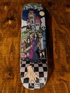 Adam-039-s-Family-Skateboard-Deck-Awesome-Art-Rare