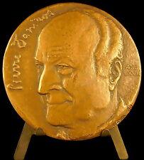 Médaille à l'écrivain Pierre Daninos Les carnets du Major Thomson,Jacassin medal