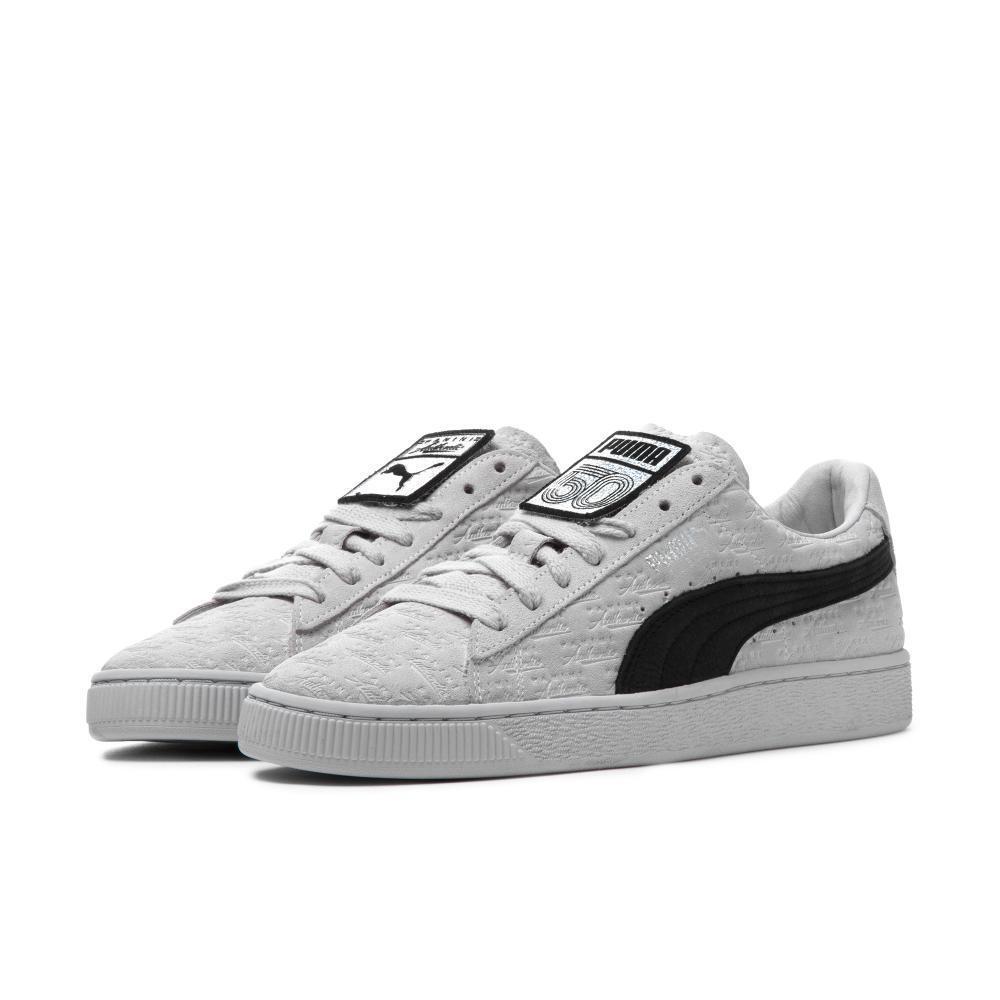 Puma Clásico de edición limitada de ante gris claro para hombre Tallas 8 a 12 Nuevo En Caja