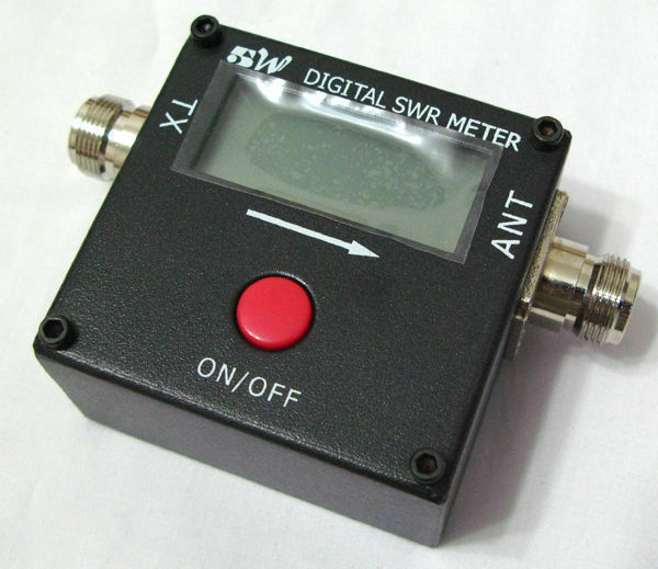 Digital VHF UHF Power & SWR Meter for Two Way Radio RED DOT 1051A 100~500mhz