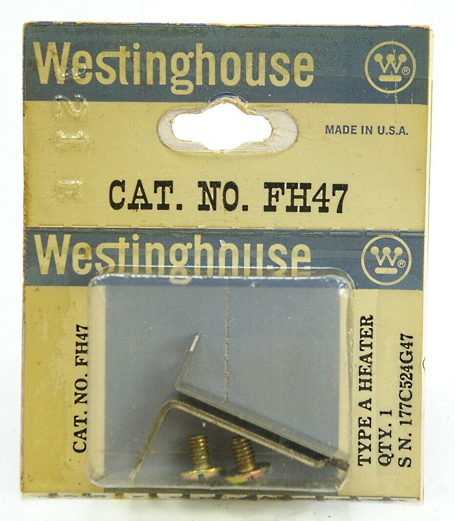 LOT OF 3 USED  WESTINGHOUSE HEATER ELEMENT FH47
