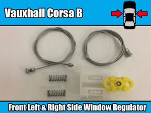 VAUXHALL CORSA C WINDOW REGULATOR REPAIR CLIP FRONT RIGHT SIDE