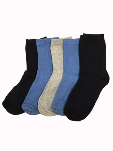 M/&S Ladies 5 pairs of sumptuously soft ankle high socks Size 3-8