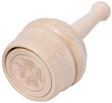 Stampo per burro Forma legno d'acero - Motivo Trifoglio