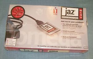 Iomega-Jaz-PCMCIA-to-Fast-SCSI-II-Adapter-PC-Card-Cable-Kit-NEW-Sealed