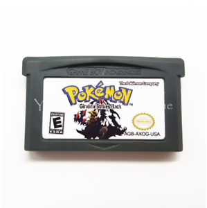 Nintendo-GBA-Video-Game-Console-Card-Cartridge-Pokemon-Giratina-Strikes-Back