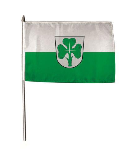 Stockflagge Fahne Flagge Fürth 30 x 45 cm