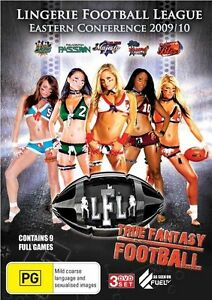 Lingerie-Football-League-Eastern-Conference-09-10-DVD-3-Disc-Set-NEW-SEALED