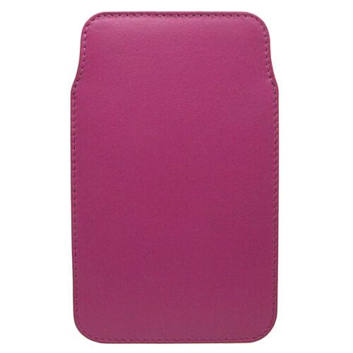 Vitali Femme Cuir Luxe iPhone 4 4S Téléphone Mobile 5 titulaire multi couleur cl59