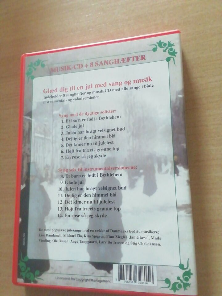 Julemusik: Julens mest populære sange, andet