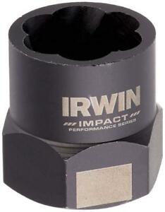 """3//8/"""" Dr Rev Spiral Flutes Irwin 53909 Bolt Extractor for 9//16/"""" or 14mm Bolts"""