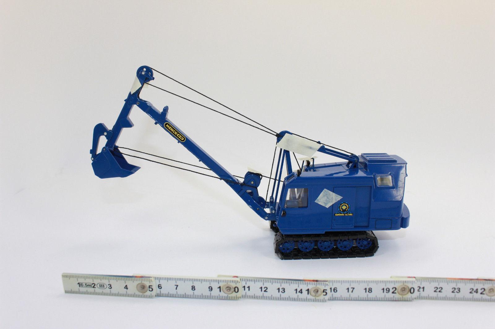 Xx Nzg 485 Meneghini M 90 Tieflöffelbagger Escavatore 1 50 Nuovi in Conf. Orig.