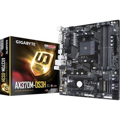 Gigabyte GA-AX370M-DS3H AMD X370 So.AM4 Dual Channel DDR4 mATX Retail