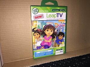 LeapFrog-LeapTV-Nickelodeon-Dora-and-Friends-Educational-Game-NEW-SEALED