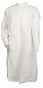 REUSABLE-SURGICAL-gown-WHITE-SIZE-2XL-100-cotton-8A-3452