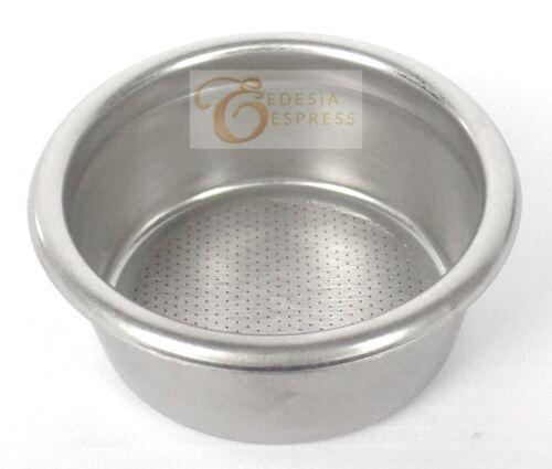 Sieb-Einsatz für SAN MARCO Ersatz für Espresso Siebträger 14g 2 Tassen