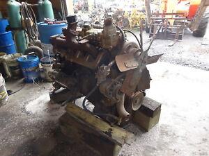 Details about Hercules White D4800 Diesel Engine RARE! 6 Cyl Generator  Power Unit D-4800