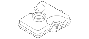 OEM NEW 2006-15 Mazda 5 2.3L 2.5L Master Cylinder Fill Reservoir Tank C23643550A