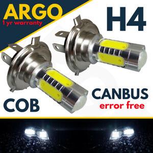 H4-Super-Blanco-cree-472-LED-80W-Bombillas-De-Los-Faros-Haz-Principal-Luz-Lampara-2X