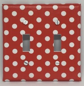 Minnie Mouse Light Switch Cover Plates Disney Girls Room Decor Red