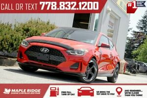 2019 Hyundai Veloster Turbo | 1-Owner, No Accidents, Turbo, Low KMs, Leather
