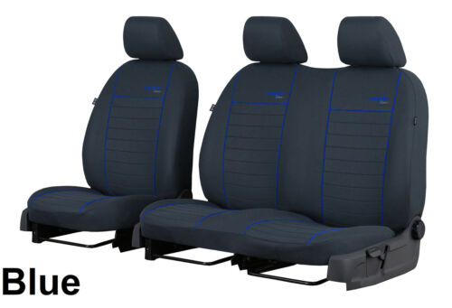 VW CRAFTER FACELIFT 2017 2018 2019 FABRIC TAILORED FRONT SEAT COVERS