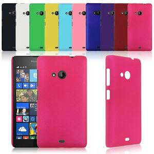 size 40 b40d1 e8f0a Details about Matte Hard Skin Back Case Cover for Microsoft Lumia 535 /  RM-1090