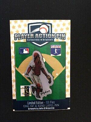 Baseball & Softball St Louis Cardinals Ted Simmons Trikot Revers Pin-collectible-fan Favorite-simba Fanartikel
