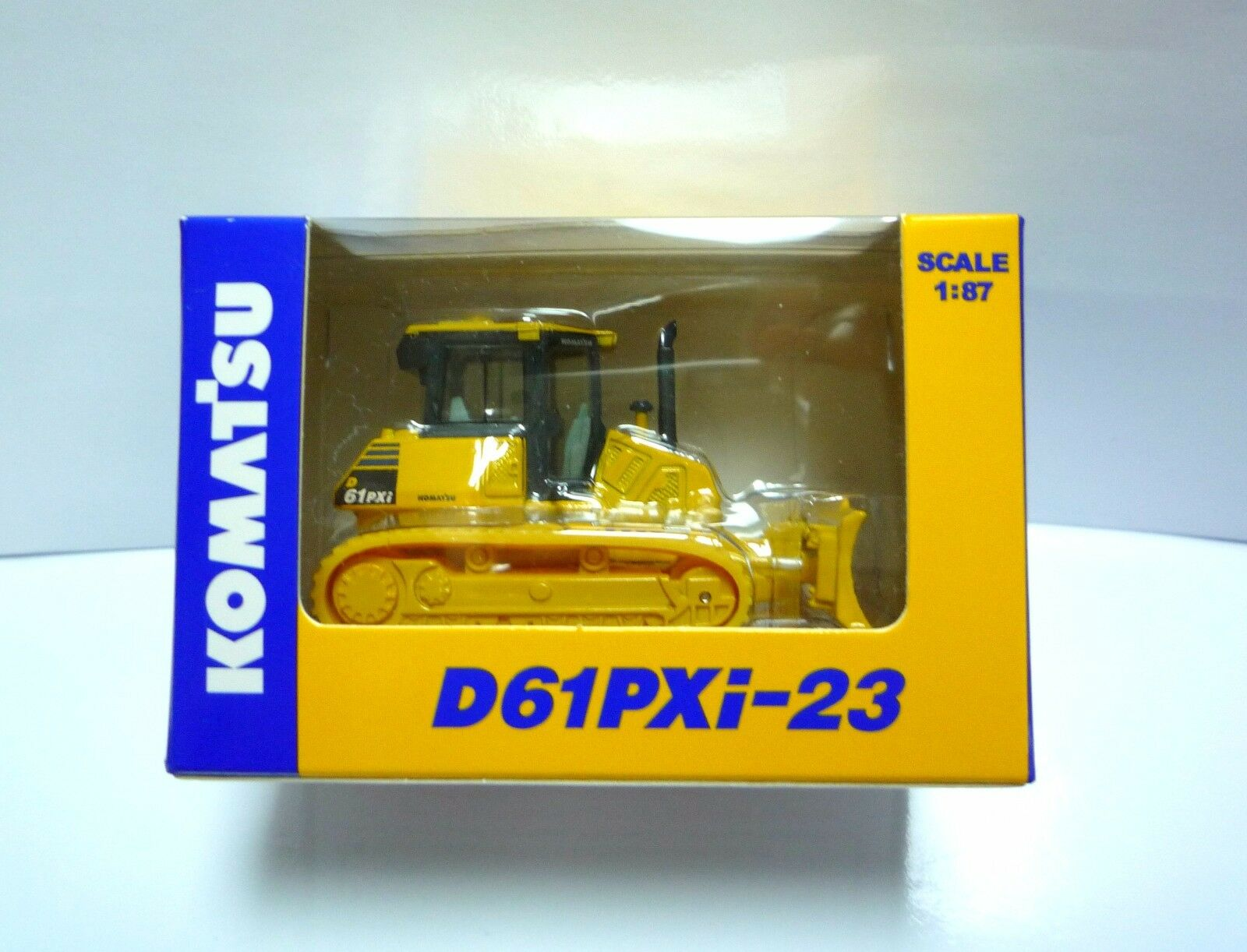 Komatsu Official Diecast Model Crawler Dozer D61PXi-23   1 87   Japan Exclusive