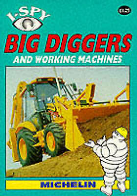 I-Spy Big Diggers and Working Machines, , Excellent Book