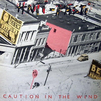 ANTI-PASTI Caution In The Wind - 1982 UK Vinyl LP + INNER  EXCELLENT CONDITION