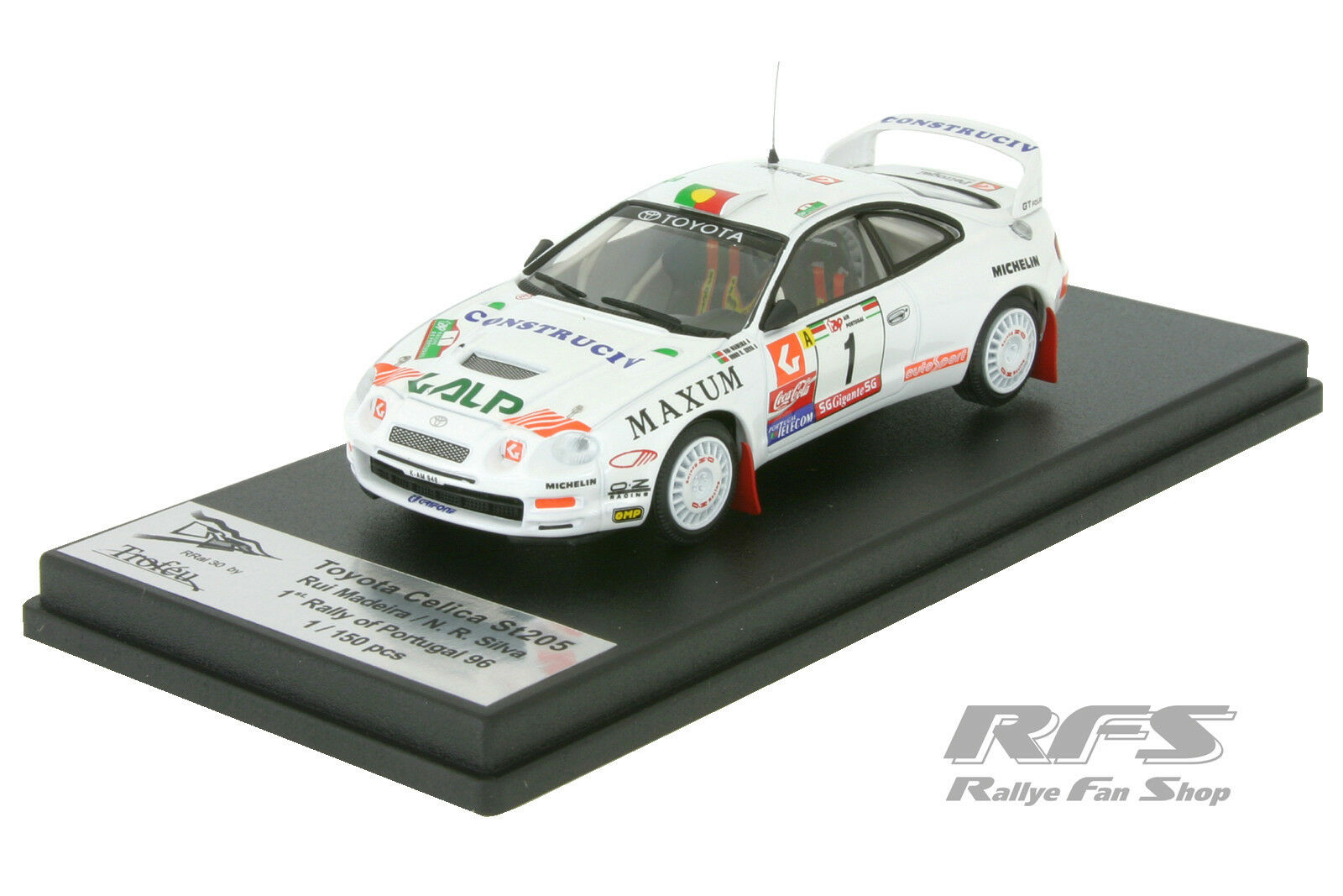 Toyota celica gt-four st205-Rally Portugal 1996 Madeira 1 43 Trofeu rral 030
