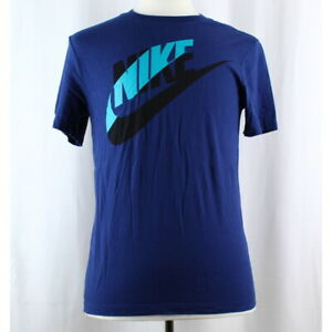 Nike-Men-039-s-100-Cotton-Short-Sleeve-Crew-Neck-Athletic-Tee-T-Shirt
